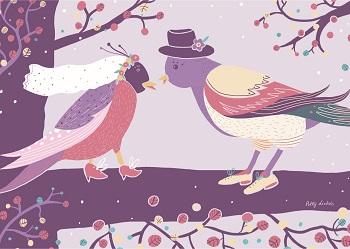 Vogelhochzeit –  Ptaci-kwas