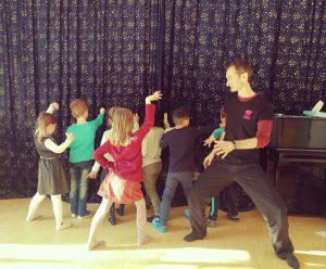 Театральные занятия в Незабудке 1 во Франкфурте