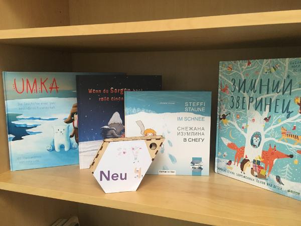 "Nezabudka 4: Bücher zum Thema ""Winter"""