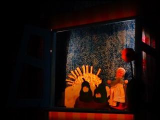 Посещение театра детьми Незабудки 5