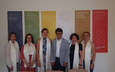 Nezabudka im Tibethaus Deutschland