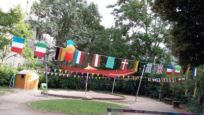 Sommerfest: Nezabudka 5 im Fußballfieber